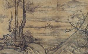 九月的眺望:董源《寒林重汀图》(传)等名迹现身日本冈山