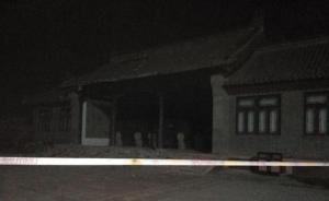 视频 | 扬州隋炀帝陵门楼发生部分坍塌,碎瓦砖洒落一地
