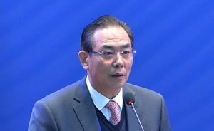 体坛名宿蔡振华以全国总工会党组成员身份亮相