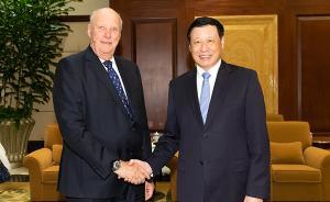上海市長應勇會見挪威國王,雙方都想加強這個領域的合作