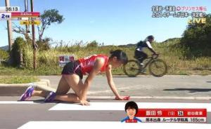 右腿骨折她選擇爬到終點!這個19歲日本女孩讓跑圈淚目