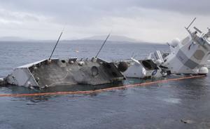 """专访中船工业专家:挪威""""英斯塔""""号打捞难度大,维修成本高"""