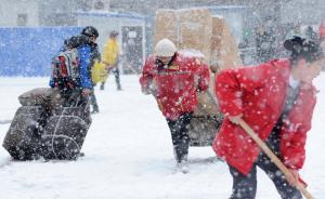 气象台:中东部7个观测站气温突破本月上旬最低气温历史极值