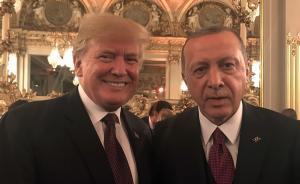 白宫:埃尔多安邀特朗普2019年访问土耳其