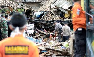 印尼海啸丨5岁男孩被困12小时后奇迹般从废墟中救出