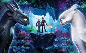 北美票房 《驯龙高手3》高居榜首,开画成绩超前两部