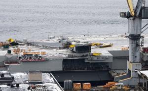 俄唯一航母计划2021年完成大修,此前因塔吊倒塌受损