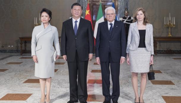 习近平同意大利总统马塔雷拉举行会谈