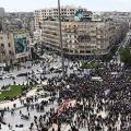 """特?#21183;鍘?#25096;兰宣言""""遭盟?#20122;?#36131;,叙利亚举行大规模抗议"""