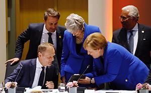 早安·世界|默克尔的平板上有啥?欧盟领导人看完都笑了!