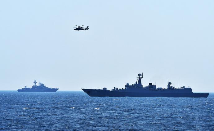 """国防部:中俄将举行""""海上联合-2019""""联合军演"""