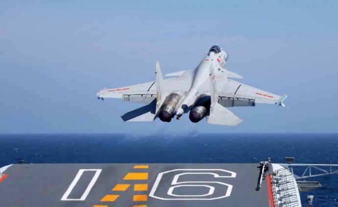 国防部就解放军军机远海训练答澎湃:为维护台海和平和稳定