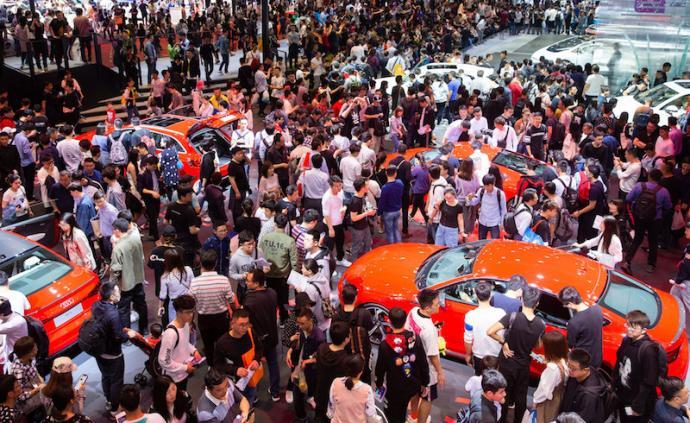 2019上海车展观展人次近百万,行业风向标领跑A级车展