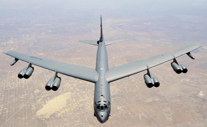 外媒:美軍B-52轟炸機抵達卡塔爾空軍基地