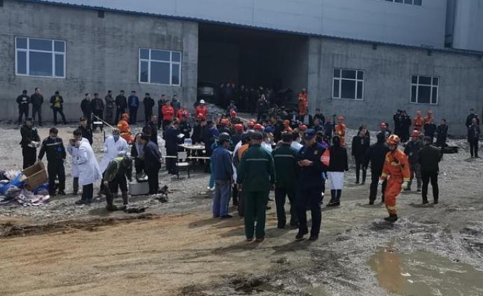 黑龙江铁矿透水事故续:8名失联矿工救援工作前置条件完成