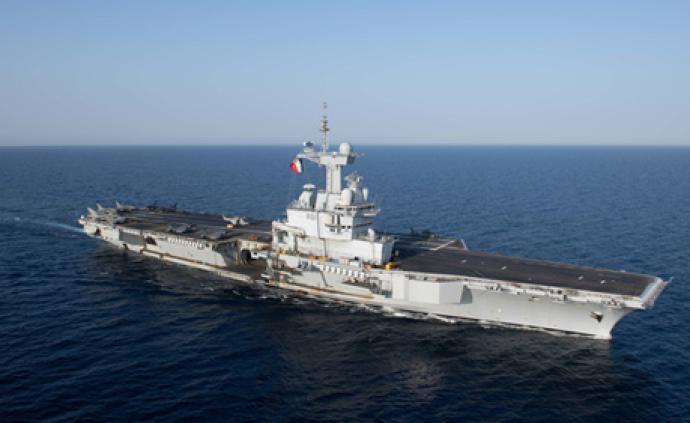 美法日澳在印度洋首度舉行海上聯演,出動航母和潛艇