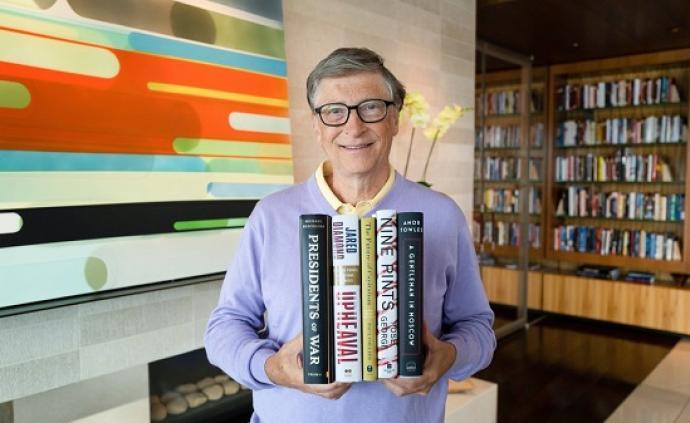 比爾·蓋茨的夏季書單:為假日沙灘增加一點嚴肅閱讀