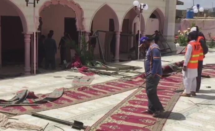 巴基斯坦一座清真寺發生爆炸,已致3人死亡至少19人受傷