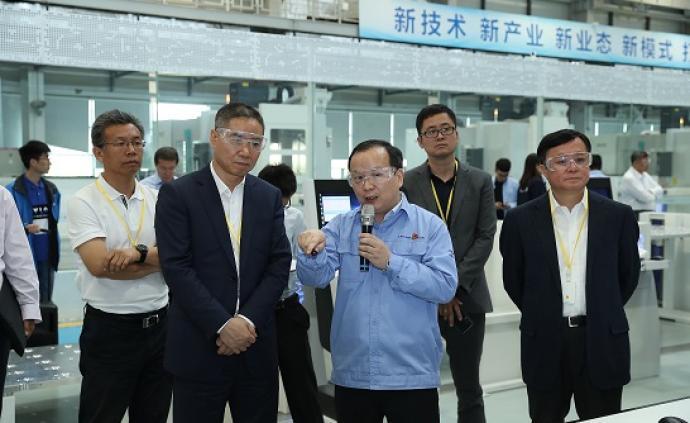 工信部副部长赴中国商飞调研5G智能制造,与联通华为座谈