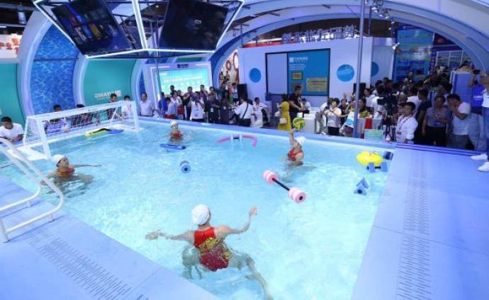 一项技术推动一项运动,体博会里描摹中国体育产业的未来