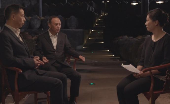 """郎酒汪俊林與特勞特鄧德隆解析""""中國兩大醬香白酒之一""""戰略"""