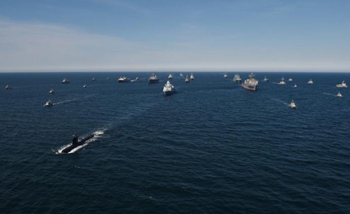 北约50余艘舰艇云集波罗的海,举行大规模海军演习