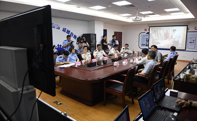 中央掃黑除惡第16督導組到浦東公安分局坐鎮指揮收網行動