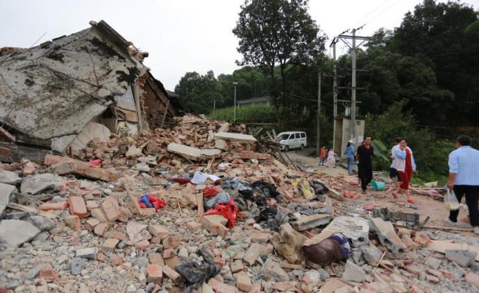 中国地震台网中心:四川长宁6.0级地震或引发次生灾害