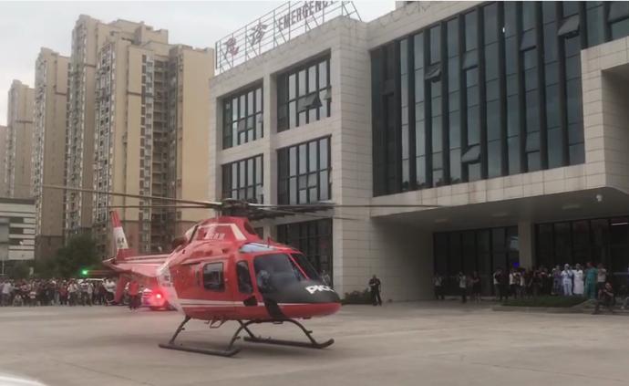 四川长宁地震一伤员伤情危重,省卫计委通过空中救援助其转院
