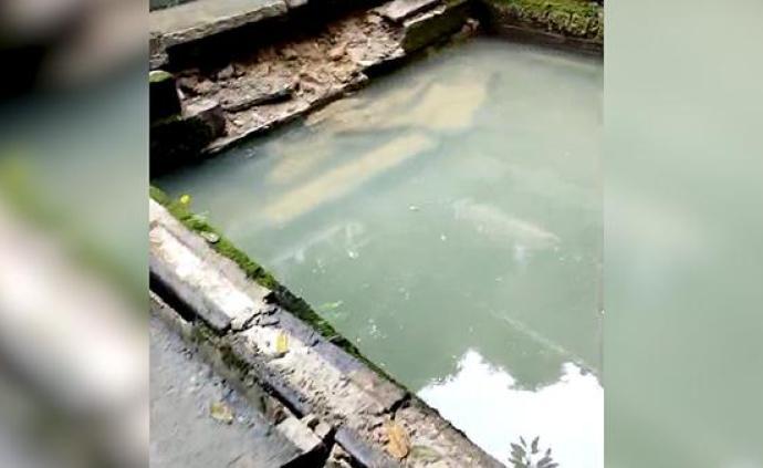 吃货福音!地震中干涸的葡萄井又出水,水质检测?#32454;?#23601;做凉糕