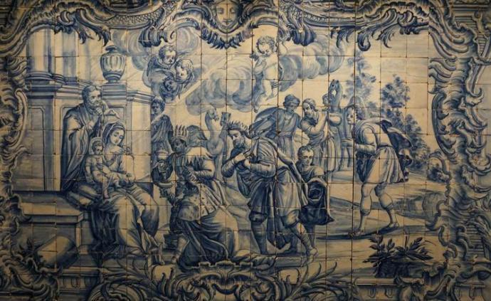 """葡萄牙为什么是""""瓷板画王国?#20445;?#25925;宫呈现""""釉彩国度""""五百年"""