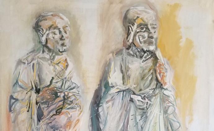 """展覽 """"相變""""雙個展:當下中西繪畫語境中的兩種羅漢之相"""