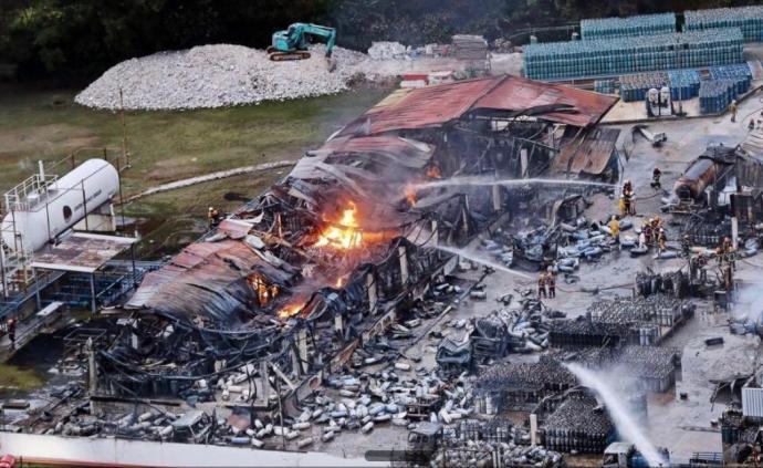 新加坡一液化石油气厂火灾造成一死两伤,均为中国籍员工