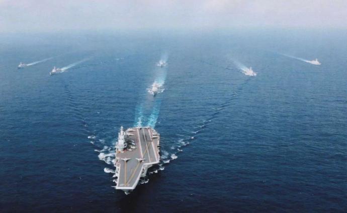 台军证实:辽宁舰编队正在穿越台湾海峡