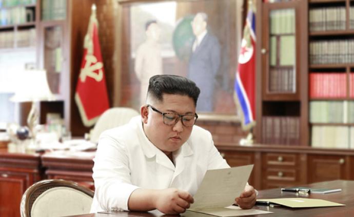 金正恩收到特朗普亲笔信