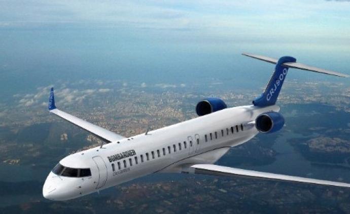 庞巴迪CRJ支线客机项目出售:三菱重工5.5亿美元接盘