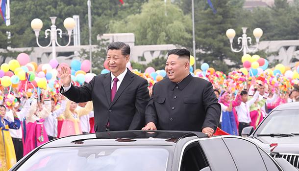 習近平對朝鮮進行國事訪問成果豐碩影響深遠