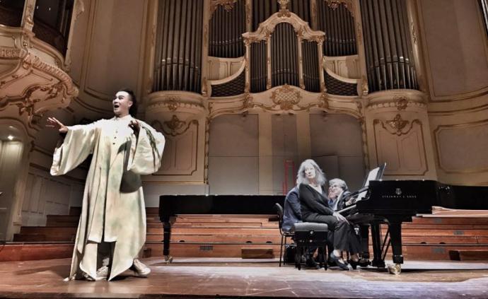 阿格里奇的鋼琴碰撞張軍的昆曲,東西方藝術的世界級對話