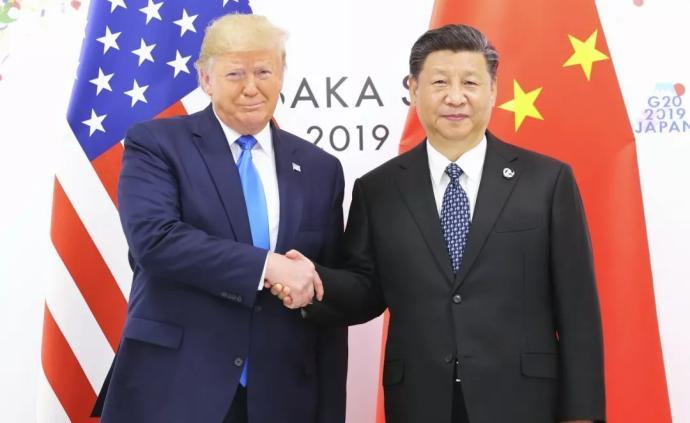 习近平与特朗普进行会晤,中美元首同意重启两国经贸磋商