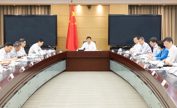 上海市政府黨組會議:推動工作作風、工作能力和精神狀態飛躍