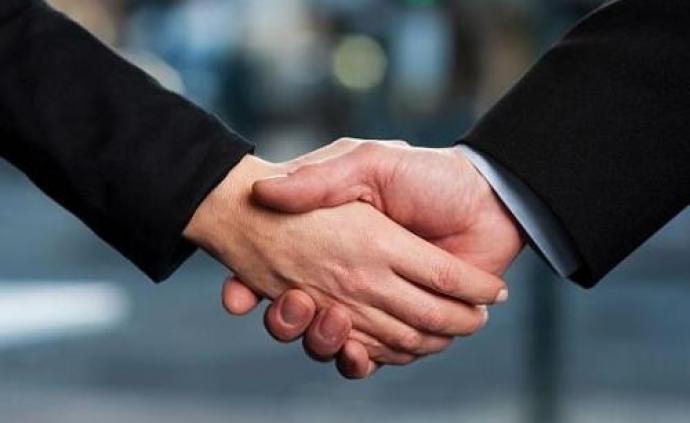 海南省长沈晓明与保时捷、比亚迪、华为等企业负责人洽谈