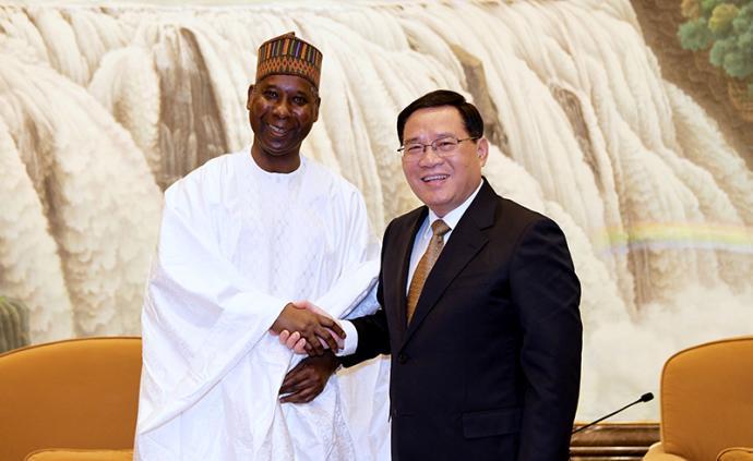 李強會見第74屆聯合國大會候任主席班德