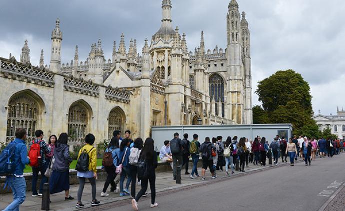申請到英國大學讀本科的中國學生人數增三成創新高