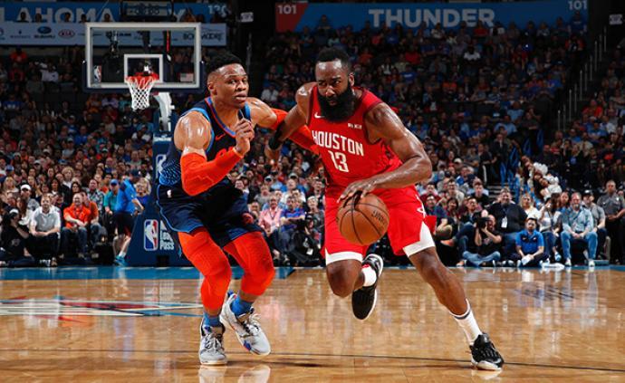 """威少联手哈登,NBA联盟又回到了最好的""""双核时代?#20445;?>                 <span class="""