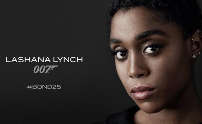 首位黑人女性007来了,明年4月上映