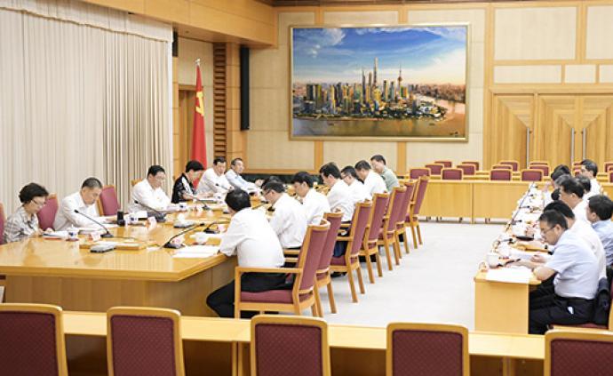 上海市委常委会交流主题教育调研成果:以调查研究检视初心