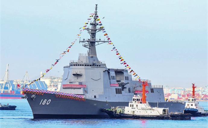 日本第二艘万?#26234;?#36880;舰下水,防空反导能力大幅提升