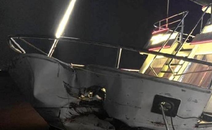 哈尔滨撞船事故原因蹊跷:当晚能见度高,两船均在航道内行驶
