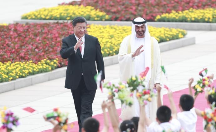 习近平再次会见阿联酋阿布扎比王储穆罕默德