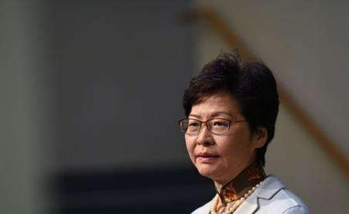 林郑月娥谴责连串暴力事件:特区政府必定严肃跟进、依法追究